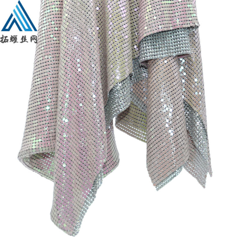 金屬布垂簾 鋁網片垂簾 服裝輔料鋁網片