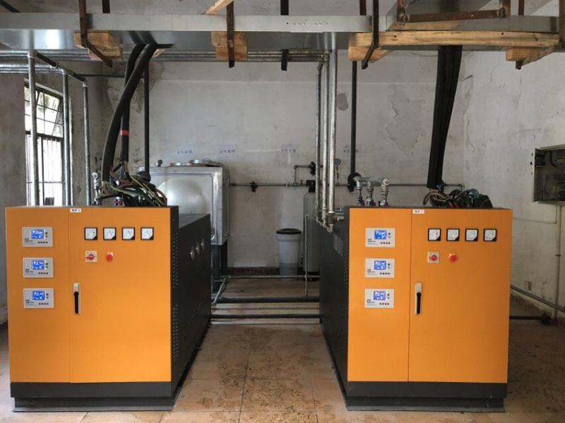 混凝土養護用360KW免  電蒸汽發生器——中交三航