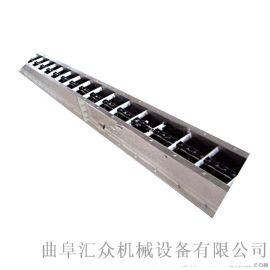 不锈钢刮板输送机多用途 移动刮板运输机