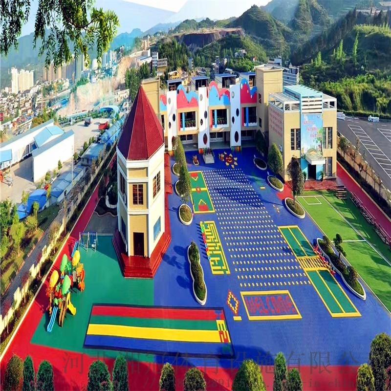 安徽阜陽市防滑懸浮地板籃球場