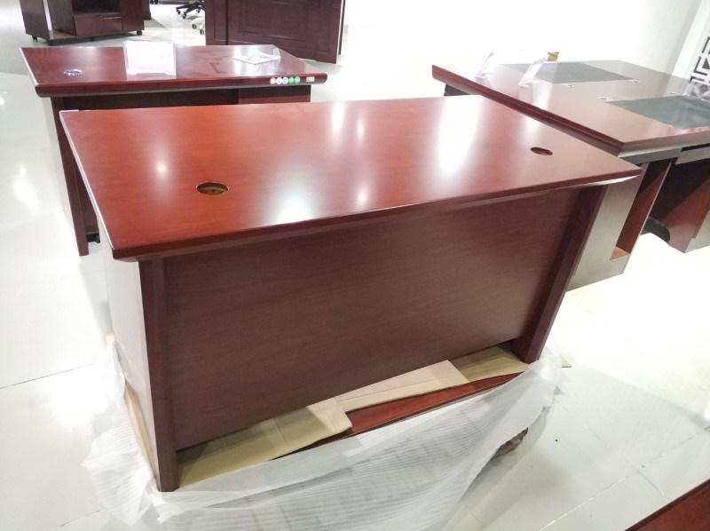1451款1.6米油漆文员台 胡桃木皮绿色环保家具