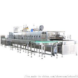 隧道烤炉 食品厂家 生产线 比例式燃气 面包烤炉