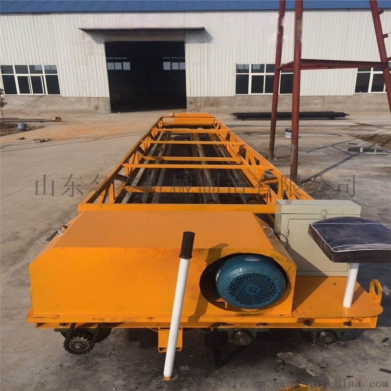 透水地坪三滚轴摊铺机 框架式摊铺整平机