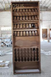 多種儲藏式不鏽鋼酒架客廳酒架電視架定制廠家