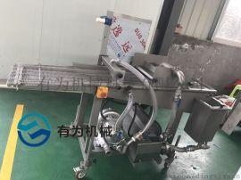 全自动水产品芙蓉虾棒裹浆机设备 有为玉米烙淋浆机
