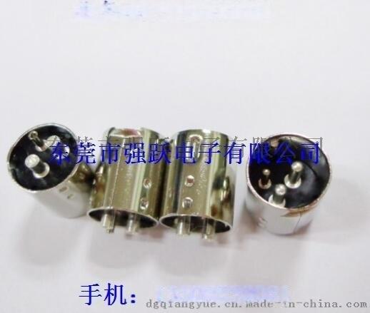 中4PIN粗针插头,DIN连接器插座,S端子连接器