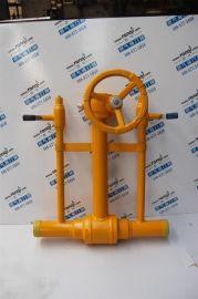 供应锻钢埋地焊接球阀MQ367F