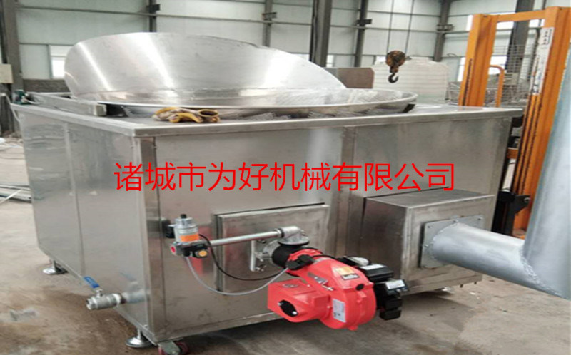 小型燃煤全自动油炸机