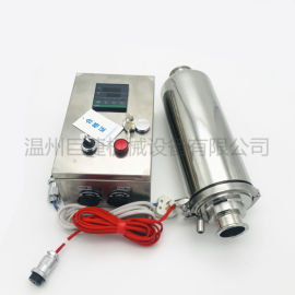 不鏽鋼電加熱呼吸器 恆溫控制不鏽鋼過濾器