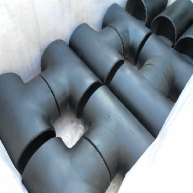 江蘇國標碳鋼焊接三通定製加工DN300變徑三通
