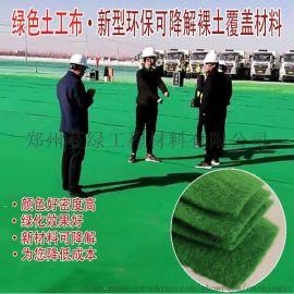 绿色土工布厂家 规格200克涤纶短纤无纺布