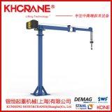 KBK单臂吊 墙壁起重机 壁式悬臂吊 科尼电动葫芦500kg电动旋转。