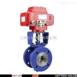 德国VATTENQ41F-16P 中德合资气动V型球阀上海工厂 中德合资电动V型球阀