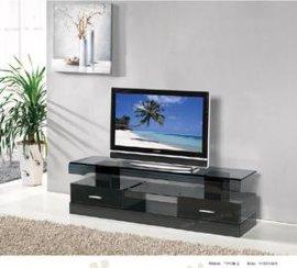 黑色玻璃电视架(TV40B-2)