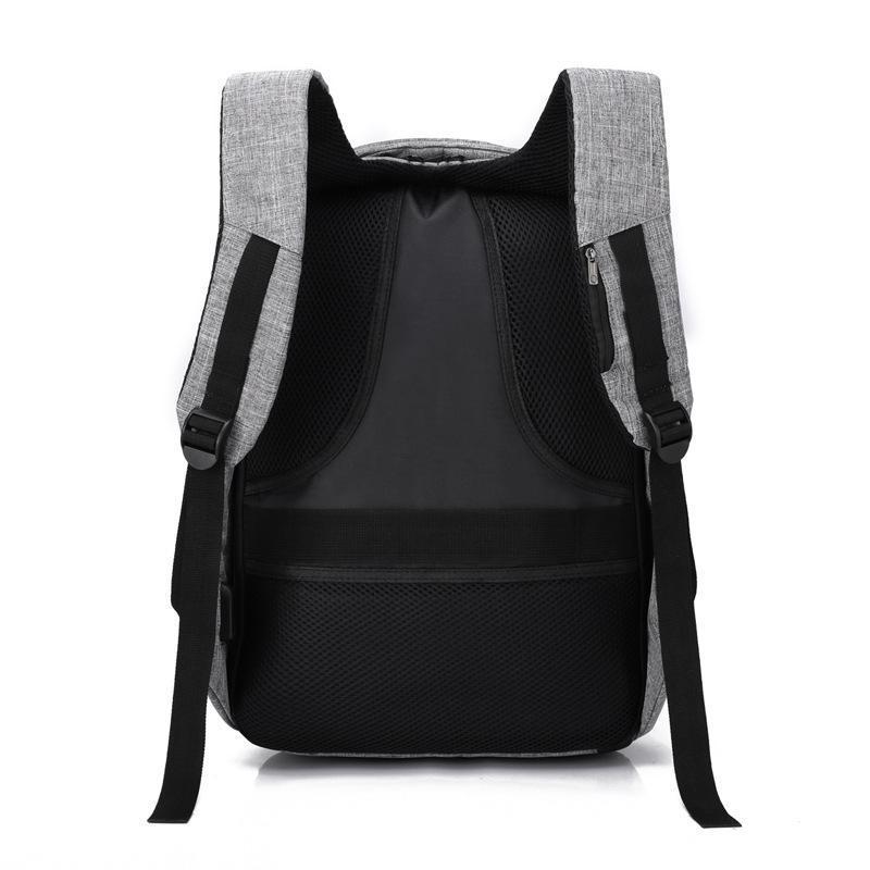 鑫承箱包专业定制便携大容量可充充电牛津布双肩背包可添加logo