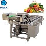 多功能氣泡清洗機 蔬菜加工成套設備專用 果蔬清洗機器實力廠商