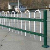小区绿化围栏防护栏 花池锌钢护栏网方管工艺围栏
