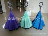 創新型雨傘 免持站立反向傘 雙層傘面直杆傘
