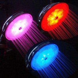 LED温控灯光花洒(MTMC-8232S)