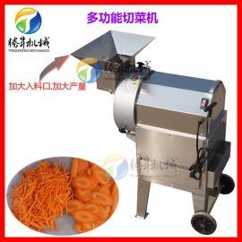 全自动切菜机 球根茎立式切菜机 土豆丝芋头片苹果丁