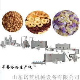 自动化早餐谷物、玉米片生产线