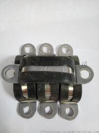定位环U型线束  多管管卡