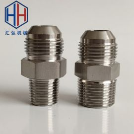 不锈钢304转焊接头 球面外丝焊接 液压过渡接头