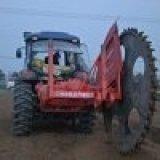 混凝土路面開溝機  興農圓盤開溝機