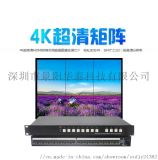 高清HDMI4进4出8进8出视频监控矩阵切换器
