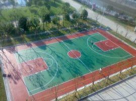 山东硅PU篮球场施工公司
