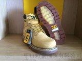 CAT/CATERPILLAR复古经典卡特大黄靴真皮男士皮鞋高帮男靴安全工装鞋