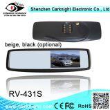 专车专用4.3寸后视镜显示器,可视倒车影像显示器