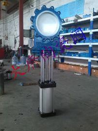 气动薄型陶瓷排渣浆液阀PZ673TC  气动陶瓷刀闸阀  气动薄型进料阀