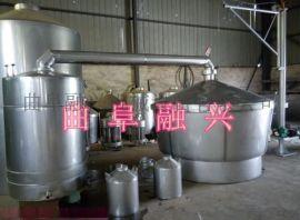 不锈钢大型白酒酿酒设备 高粱做酒工艺