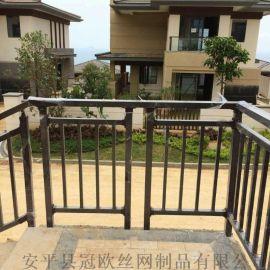 组装喷塑型阳台护栏 工程栏杆 锌钢护栏 铁艺护栏 阳台栏杆