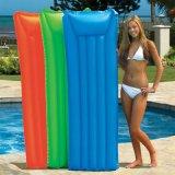 定做PVC充气儿童成人浮排 造型带枕浮排
