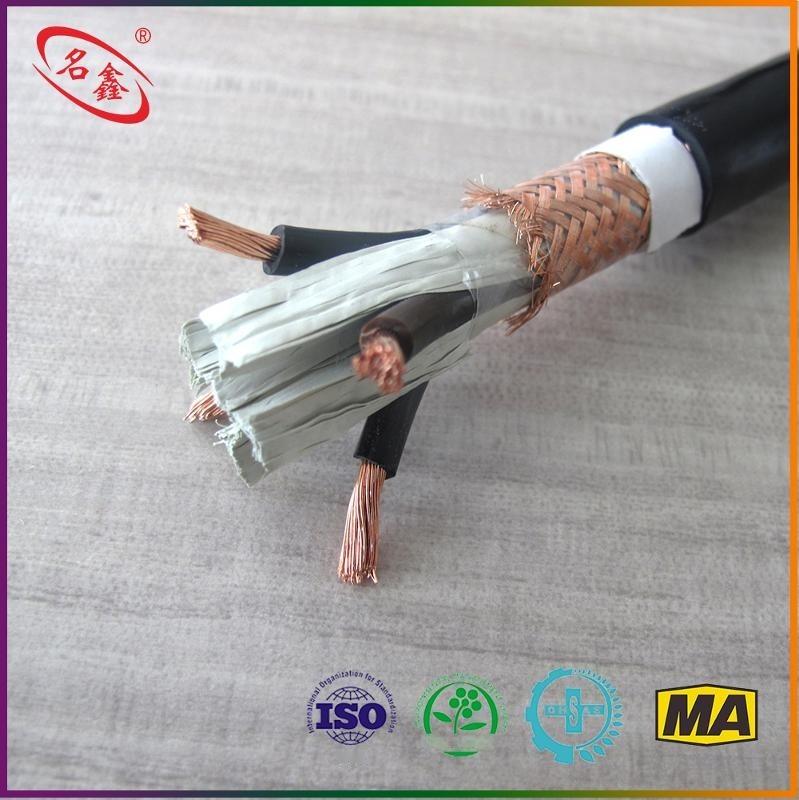 煤礦用控制電纜MKVVRP 450/750V 4x2.5 安標認證 品質保證 煤礦用聚氯乙烯絕緣聚氯乙烯護套編織遮罩軟電纜