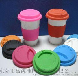 环保硅胶杯盖定做 防漏防烫硅胶杯盖