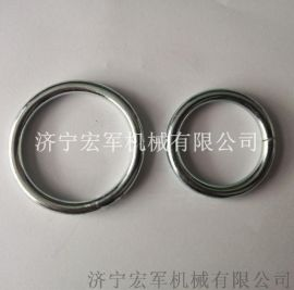 5*50电镀锌焊接圆环、铁环、不锈钢吊环
