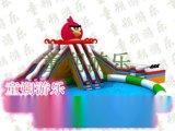 郑州童朔ts-009小孩最喜欢彩虹充气水滑梯