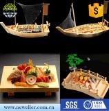 出口竹木製壽司船