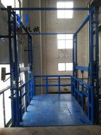 济南永鸿定制新疆载重3吨的导轨式垂直货梯升降机多少钱一台