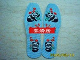 芸绣房纯手工十字绣鞋垫(2)