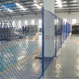 江西禾乔仓库隔离栅 车间网表面喷塑处理 安全网