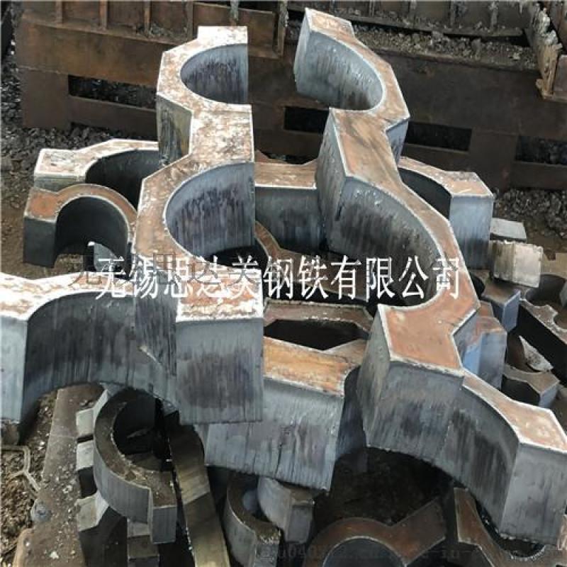 42crmo钢板切割,碳板火焰切割,钢板加工