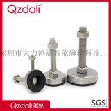 加厚镀铬防滑防震重型碳钢调节脚杯