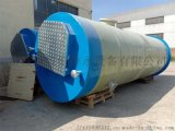 玻璃钢缠绕型一体化污水提升泵站原理