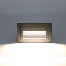LED地脚灯 嵌入式墙角灯踏步灯 台阶灯 嵌墙灯