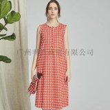 麦中林折扣品牌女装2020春装货源市场找广州明浩