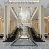 酒店大堂喷画铝方通,